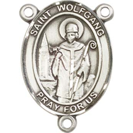 Saint Wolfgang<br>8323CTR - 3/4 x 1/2<br>Rosary Center