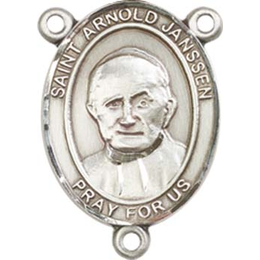 Saint Arnold Janssen<br>8328CTR - 3/4 x 1/2<br>Rosary Center