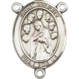 Saint Felicity<br>8341CTR - 3/4 x 1/2<br>Rosary Center