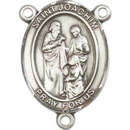 Saint Joachim<br>8348CTR - 3/4 x 1/2<br>Rosary Center
