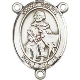 Saint Giles<br>8349CTR - 3/4 x 1/2<br>Rosary Center