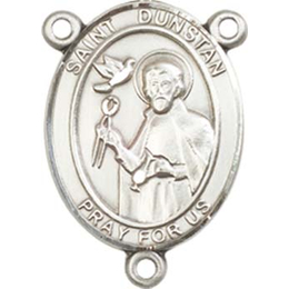 Saint Dunstan<br>8355CTR - 3/4 x 1/2<br>Rosary Center
