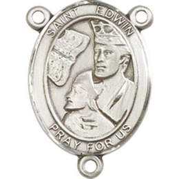 Saint Edwin<br>8361CTR - 3/4 x 1/2<br>Rosary Center