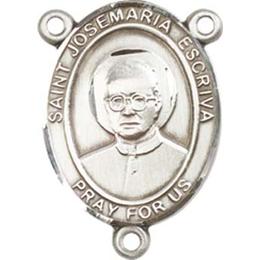 Saint Josemaria Escriva<br>8362CTR - 3/4 x 1/2<br>Rosary Center