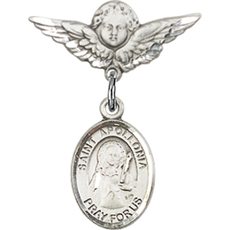 St Apollonia<br>Baby Badge - 9005/0735
