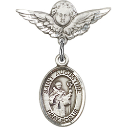 St Augustine<br>Baby Badge - 9007/0735