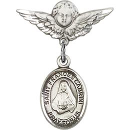 St Frances Cabrini<br>Baby Badge - 9011/0735
