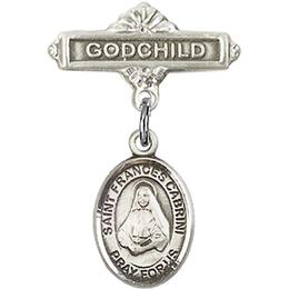 St Frances Cabrini<br>Baby Badge - 9011/0736