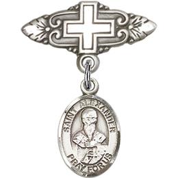 St Alexander Sauli<br>Baby Badge - 9012/0731