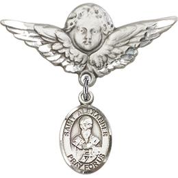 St Alexander Sauli<br>Baby Badge - 9012/0733