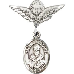 St Alexander Sauli<br>Baby Badge - 9012/0735
