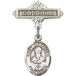 St Alexander Sauli<br>Baby Badge - 9012/0736