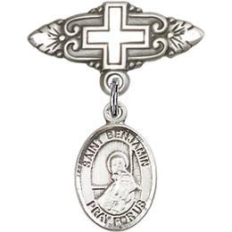 St Benjamin<br>Baby Badge - 9013/0731