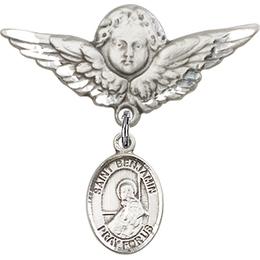 St Benjamin<br>Baby Badge - 9013/0733