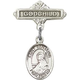 St Benjamin<br>Baby Badge - 9013/0736