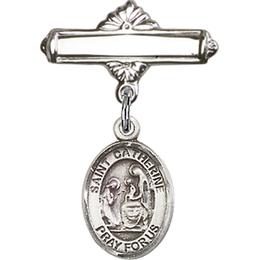 St Catherine of Siena<br>Baby Badge - 9014/0730