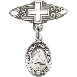 St Katherine Drexel<br>Baby Badge - 9015/0731
