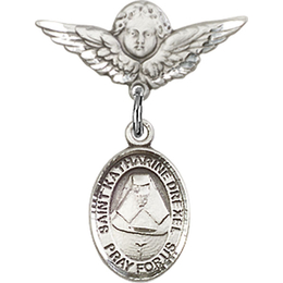 St Katherine Drexel<br>Baby Badge - 9015/0735