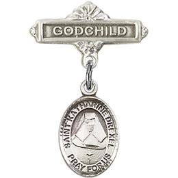 St Katherine Drexel<br>Baby Badge - 9015/0736
