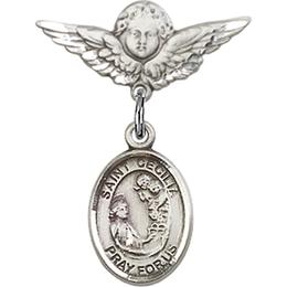 St Cecilia<br>Baby Badge - 9016/0735