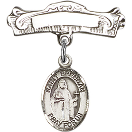 St Brendan the Navigator<br>Baby Badge - 9018/0732