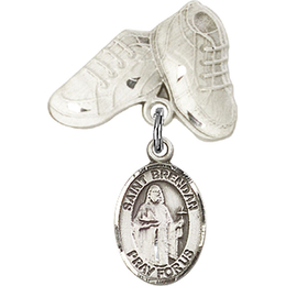 St Brendan the Navigator<br>Baby Badge - 9018/5923