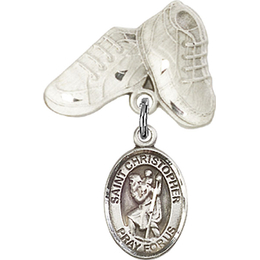 St Christopher<br>Baby Badge - 9022/5923