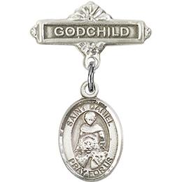 St Daniel<br>Baby Badge - 9024/0736