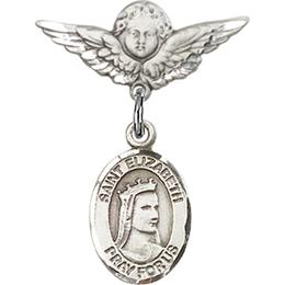 St Elizabeth of Hungary<br>Baby Badge - 9033/0735