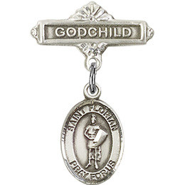 St Florian<br>Baby Badge - 9034/0736