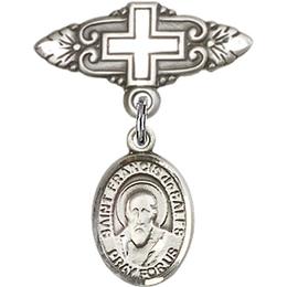 St Francis de Sales<br>Baby Badge - 9035/0731