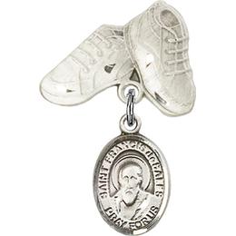 St Francis de Sales<br>Baby Badge - 9035/5923