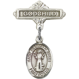 St Francis of Assisi<br>Baby Badge - 9036/0736