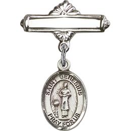 St Genesius of Rome<br>Baby Badge - 9038/0730