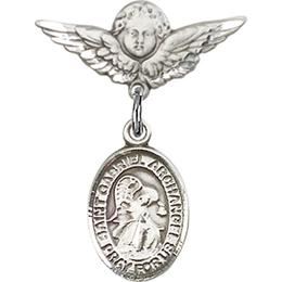 St Gabriel the Archangel<br>Baby Badge - 9039/0735