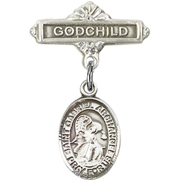 St Gabriel the Archangel<br>Baby Badge - 9039/0736