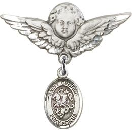 St George<br>Baby Badge - 9040/0733
