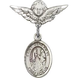 St Genevieve<br>Baby Badge - 9041/0735
