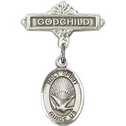 Holy Spirit<br>Baby Badge - 9044/0736
