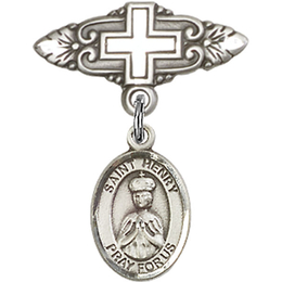 St Henry II<br>Baby Badge - 9046/0731