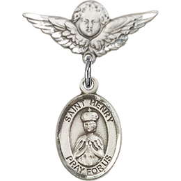 St Henry II<br>Baby Badge - 9046/0735