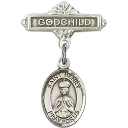 St Henry II<br>Baby Badge - 9046/0736