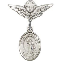 St Joan of Arc<br>Baby Badge - 9053/0735