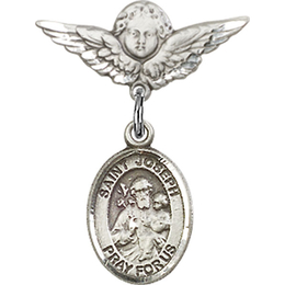 St Joseph<br>Baby Badge - 9058/0735