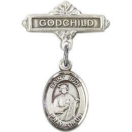 St Jude Thaddeus<br>Baby Badge - 9060/0736