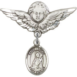 St Lucia of Syracuse<br>Baby Badge - 9065/0733