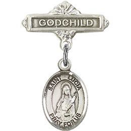 St Lucia of Syracuse<br>Baby Badge - 9065/0736