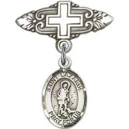 St Lazarus<br>Baby Badge - 9066/0731