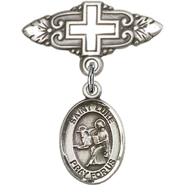 St Luke the Apostle<br>Baby Badge - 9068/0731