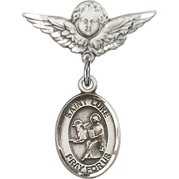 St Luke the Apostle<br>Baby Badge - 9068/0735